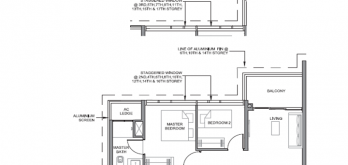parc clematis layout for 3-bedroom type 5