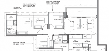 parc clematis layout for 4-bedroom