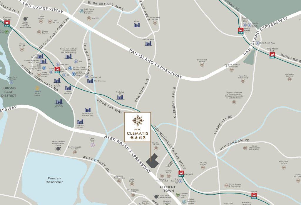 parc clematis condo address