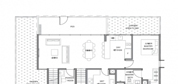 parc clematis bungalow floor plan layout