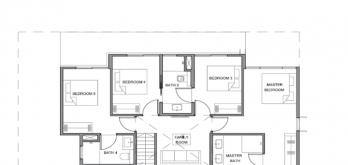 parc clematis bungalow house floor layout