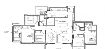 parc clematis penthouse floor plan