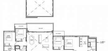 parc clematis floor plan for penthouse 5