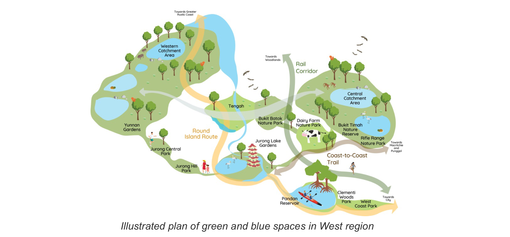 ura master plan 2019 west region on bringing homes closer to nature and waterways